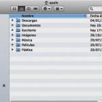 Trabajando en el entorno de MAC