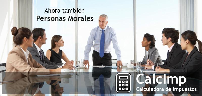 CalcImp personas Morales