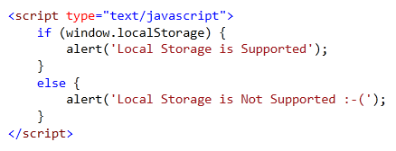 javascript webstorage