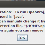 "Your Java vendor is ""Oracle Corporation""."