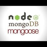 nodejs mongodb mongoose